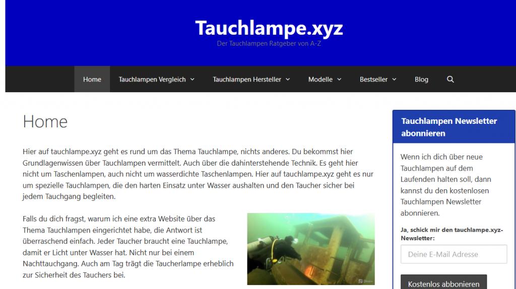 Screenshot Tauchlampe-xyz-Tauchlampen-von-A-Z-erklaert altes Designs