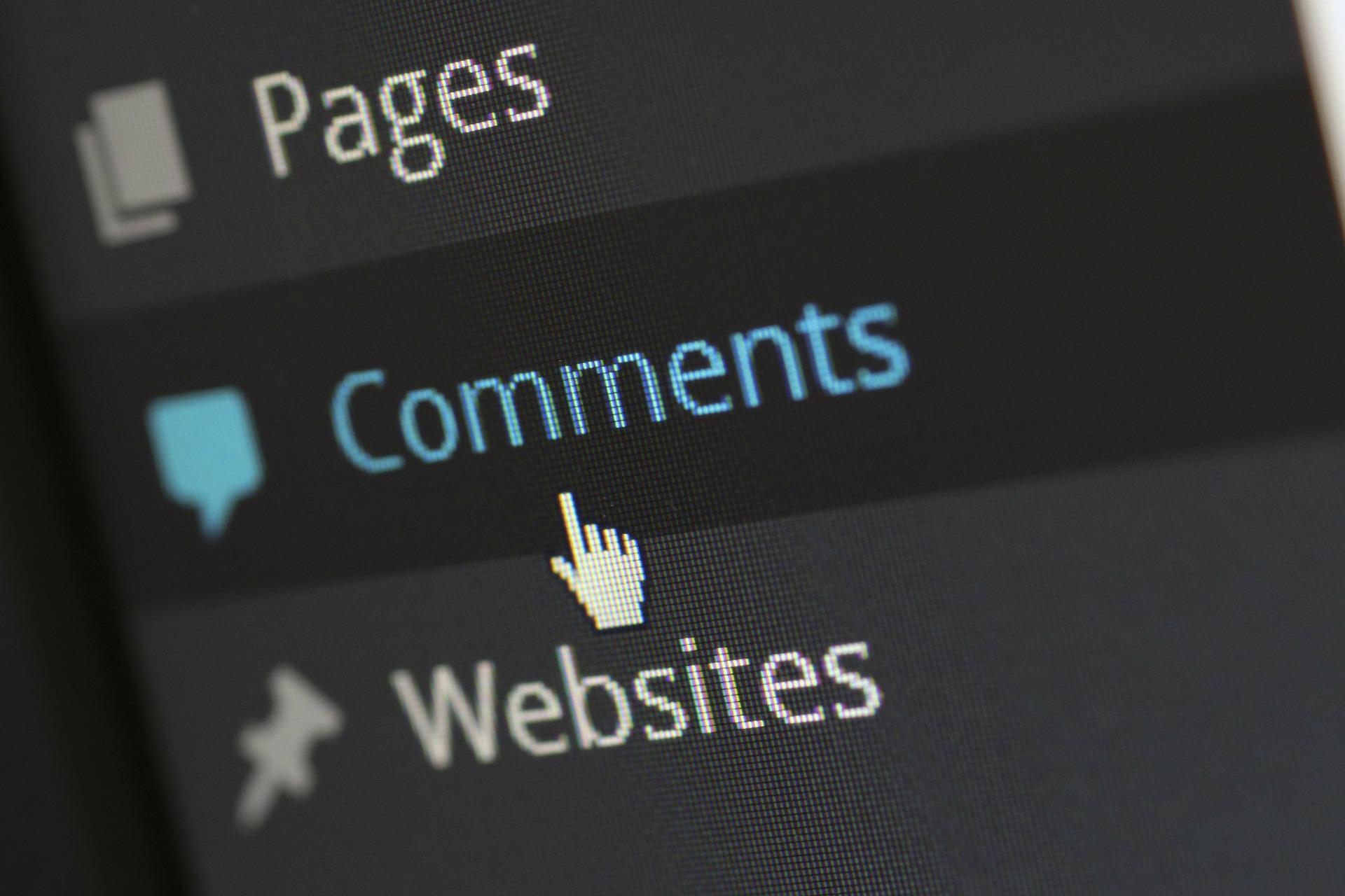Blog Kommentare WordPress